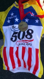 Finisher's Medal and Jersey