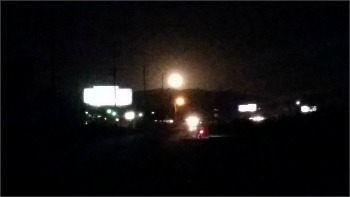 moonrise over Beaumont