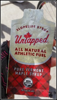 "Liquid ""crack"" photo of maple syrup packet"