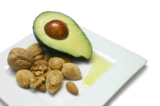 avocado and nuts