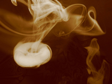 Moxibustion's down-side - it can produce a great deal of smoke!